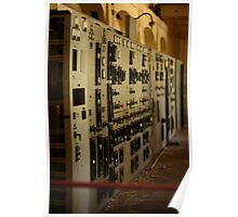 control panel Poster