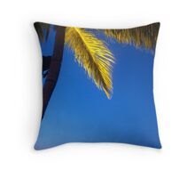 Sunset Bar in Borneo Throw Pillow