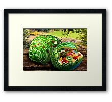 Exotic Melons Framed Print