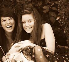 Best Friends: Breana and Kristen by Courtney Tomey