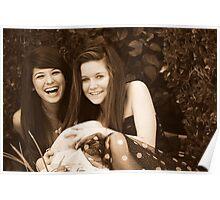 Best Friends: Breana and Kristen Poster