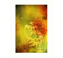 Shades of Autumn III Art Print