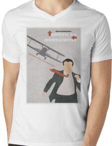 North by Northwest Mens V-Neck T-Shirt