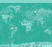 World Map landmarks 7 by BekimART