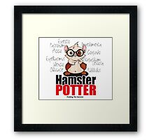 Pudding the Hamster - Harry Potter Framed Print