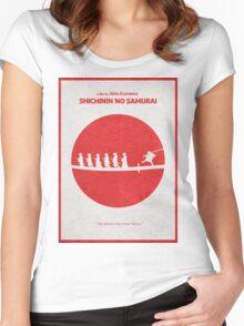 Seven Samurai Women's Fitted Scoop T-Shirt