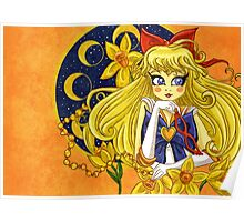 Sailor Venus from Sailor Moon Poster