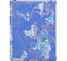 World Map landmarks 8 iPad Case/Skin