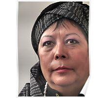 (595) Rosa with turban Poster