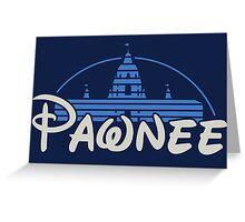 Pawnee Greeting Card