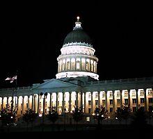State of Utah Capitol Building ~ Salt Lake City, Utah by Jan  Tribe