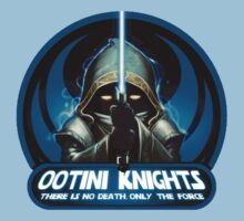 Ootini Knights  - There is no death, only the force. Kids Clothes