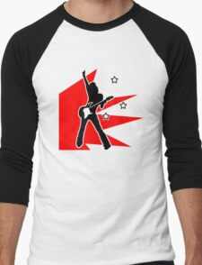 rock chick Men's Baseball ¾ T-Shirt