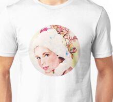 a pretty face reflected Unisex T-Shirt