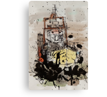 Without The Sea - tale 1 Canvas Print