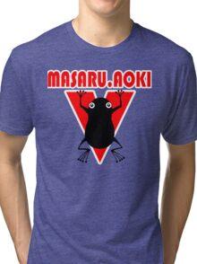 Hajime  No Ippo - Aoki Tri-blend T-Shirt