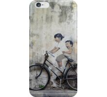 Cycling Georgetown iPhone Case/Skin