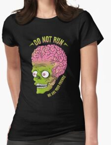 Friends of Mars Womens Fitted T-Shirt