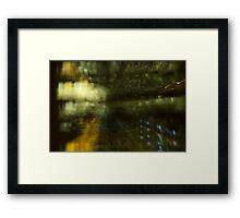 Boston: Prudential Framed Print