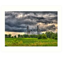 Storm Clouds Gathering Art Print