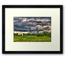 Storm Clouds Gathering Framed Print