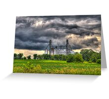 Storm Clouds Gathering Greeting Card