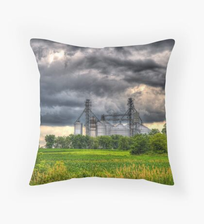 Storm Clouds Gathering Throw Pillow
