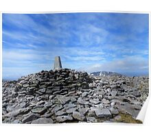 The Cairngorms: The Top of Ben Machdui Poster