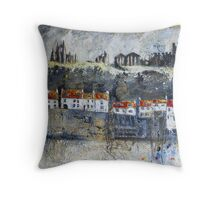 Dramatic Whitby Throw Pillow