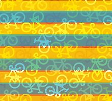 Bicycle Stripes by XOOXOO