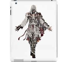 Ezio iPad Case/Skin