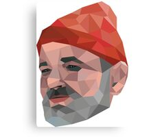 Steve Zissou - Bill Murray - Wes Anderson Canvas Print