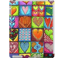 Crazy Hearts iPad Case/Skin