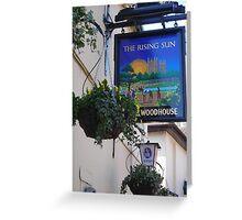 The Rising Sun Greeting Card