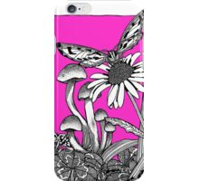 A Vivid Pink Big World iPhone Case/Skin