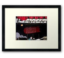 Concert Fun Framed Print