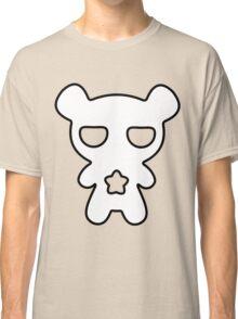 Lazy Bear Black and White Classic T-Shirt