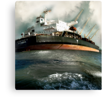 Istanbul Delivers Canvas Print
