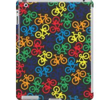 Rainbow Multiple Bikes iPad Case/Skin