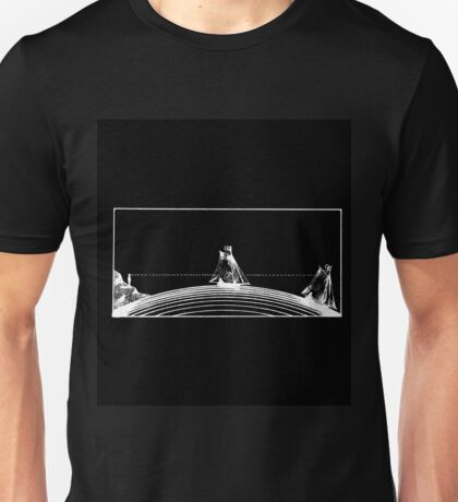 SAILING THE UNKNOWN HORIZONS Unisex T-Shirt