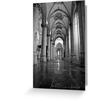 Grote Kerk, Breda, Netherlands Greeting Card