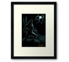 Howl of the Werewolf Framed Print