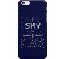 A Sky Full Of Stars + stars iPhone Case/Skin