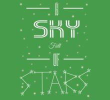 A Sky Full Of Stars + stars One Piece - Short Sleeve