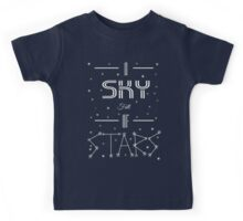 A Sky Full Of Stars + stars Kids Tee