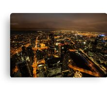 Melbourne Glow Canvas Print