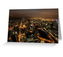 Melbourne Glow Greeting Card