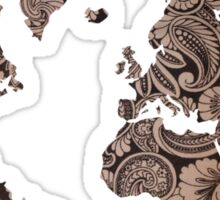 Paisley world Sticker