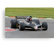 Lotus F1 - Type 79 - 1978/79  Canvas Print