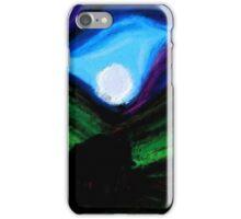 Moonlit Elephants iPhone Case/Skin